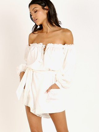 Spell & The Gypsy Milla Romper Off White