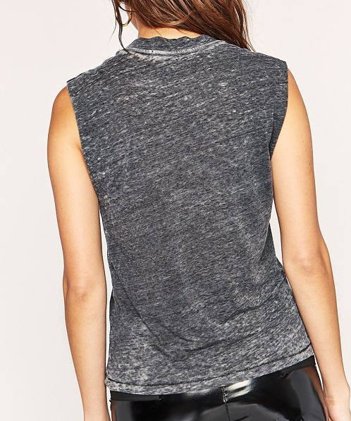 Daydreamer Def Leppard Tour Muscle Tank Charcoal
