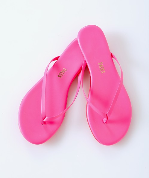 Tkees Lily Flip Flop Neon Pink