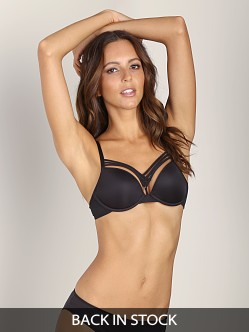 Marlies Dekkers Dame de Paris Push Up Bra Black