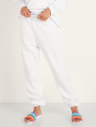 Complete the look: LNA Clothing Logo Sweatpants White