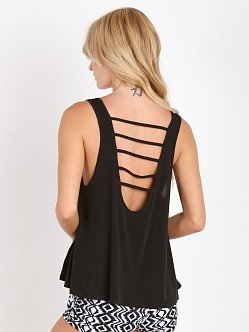 Onzie Strappy Tank Black