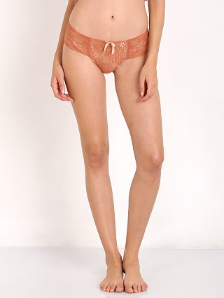 Complete the look: Eberjey Vienna Lace Hipster Burnt Sienna