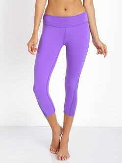 Beyond Yoga Side Triangle Legging Electric Violet