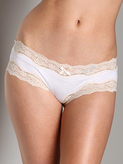 Eberjey Lady Godiva Brief White