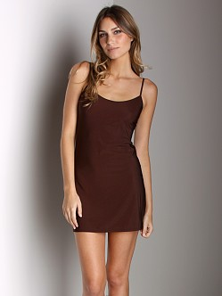 Only Hearts Second Skin Chemise Chocoloate