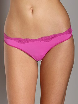 Only Hearts Delicious Low Rise Thong Peony