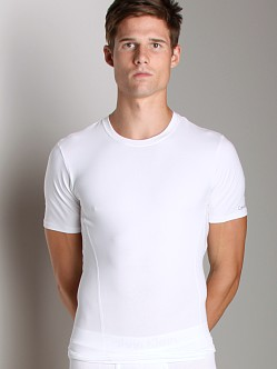 Calvin Klein Core Sculpt Compression Crew Neck Shirt White