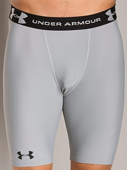 Under Armour UA HeatGear Compression Short Grey