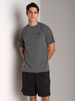 Under Armour UA Tech Shortsleeve T Carbon Heather