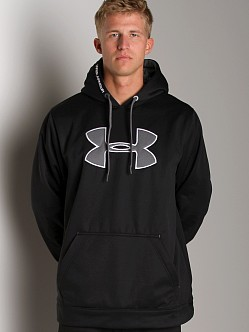 Under Armour Fleece Big Logo Hoody Black