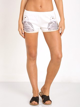 All Things Fabulous Track Shorts Owls