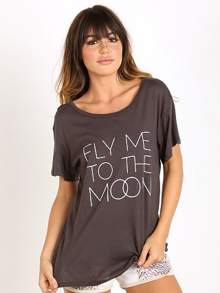 All Things Fabulous Short Sleeve Tee Fly Me to the Moon