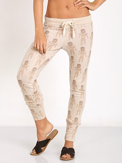 All Things Fabulous Repeat Skinnies Oatmeal/Astro Leo