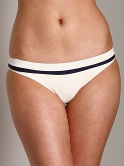 L Space Color Block Cabana Bikini Bottom Cream