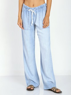 Bella Dahl Wide Leg Pant Light Mist