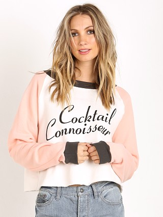 WILDFOX Cocktail Connoisseur Sweater Vintage Lace