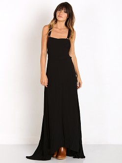Flynn Skye Farmer Maxi Dress Black