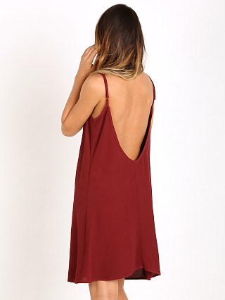 Flynn Skye Sequoia Mini Dress Merlot