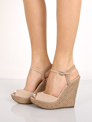 Schutz Mable Wedge Oyster