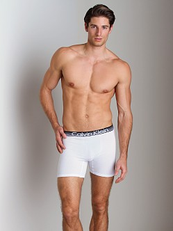 Calvin Klein Concept Cotton Boxer Brief White