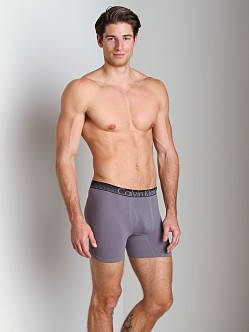 Calvin Klein Concept Cotton Boxer Brief Eel Grey