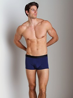 Calvin Klein Bold Cotton Trunk Blue Depths