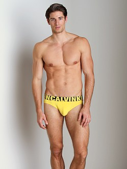 Calvin Klein X Micro Hip Brief Yellowtail