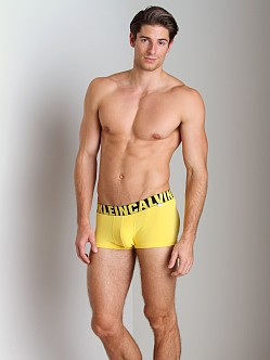 Calvin Klein X Micro Low Rise Trunk Yellowtail