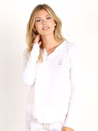 All Things Fabulous Single Rabbit Henley Thermal