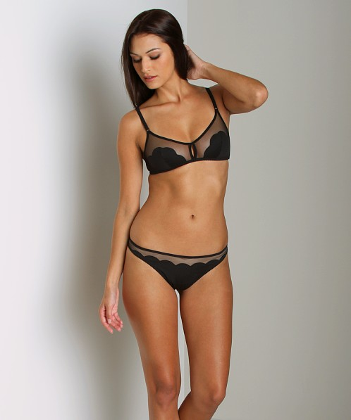 Huit Cupcake String Thong Black
