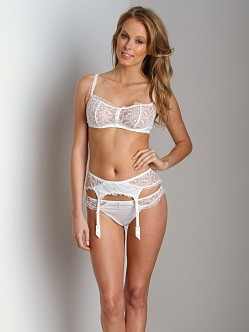 Huit Tea For Two Garter Ivory