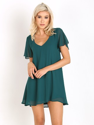 Show Me Your Mumu Kylie Mini Dress Emerald