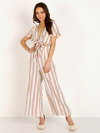 Complete the look: Show Me Your Mumu Val Jumpsuit Shorebert Stripe