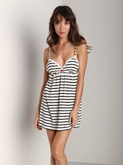 Juicy Couture Bella Chemise Angel/Black Stripe