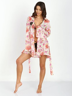 SKIVVIES by For Love & Lemons Talk Dirty Robe