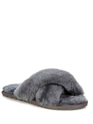 Emu Australia Mayberry Slipper Charcoal