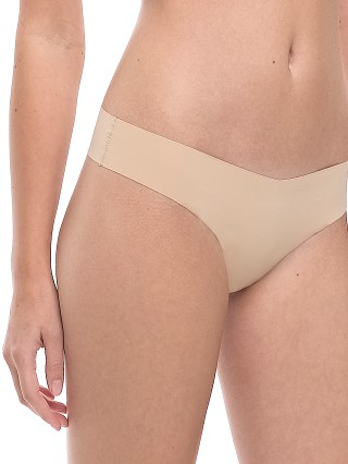Model in beige Commando Classic Thong