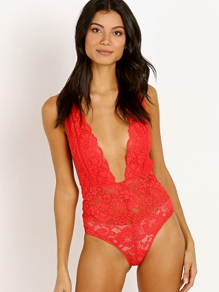 Hot As Hell Comin' In HAHT Bodysuit Siren Red