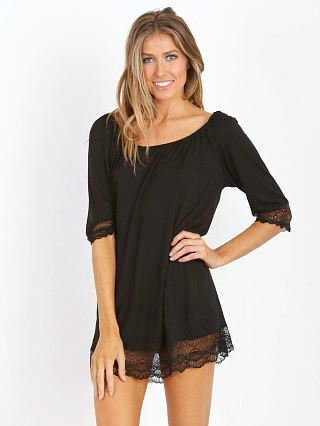 Only Hearts Venice Night Dress Black