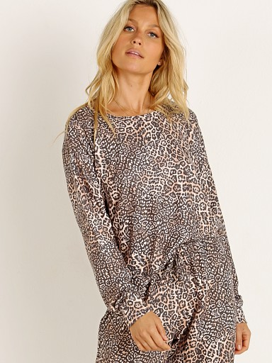 Model in pounce Onzie High Low Sweater