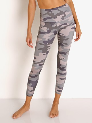 Model in combat camo Onzie High Basic Midi Legging