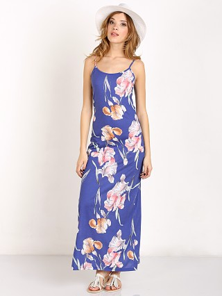 MinkPink By The River Maxi Dress Blue Flower