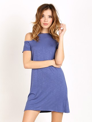 MinkPink Fortune N Fame Tee Dress Blue