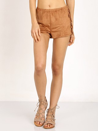 MinkPink Wild West Hipster Short Tan