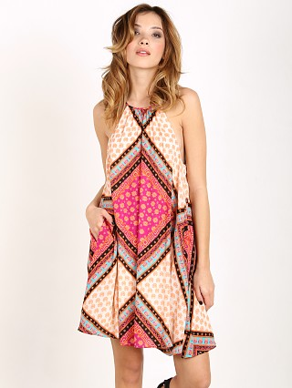 MinkPink African Trance Swim Dress Print