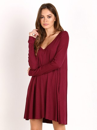Knot Sisters Claire Dress Wine