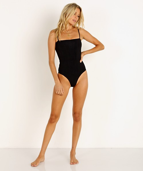 Hunza G Maria Nile One Piece Black