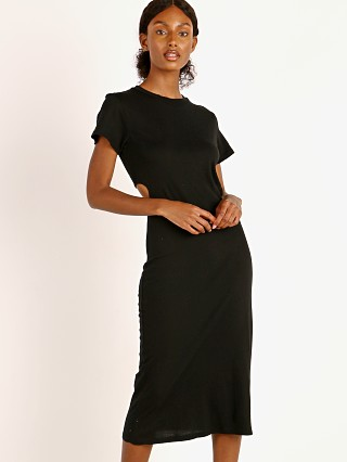 LNA Clothing Mayer Tee Dress Black