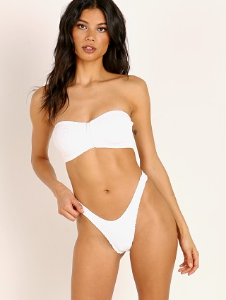 Bound by Bond-Eye The Shea Bikini Top White